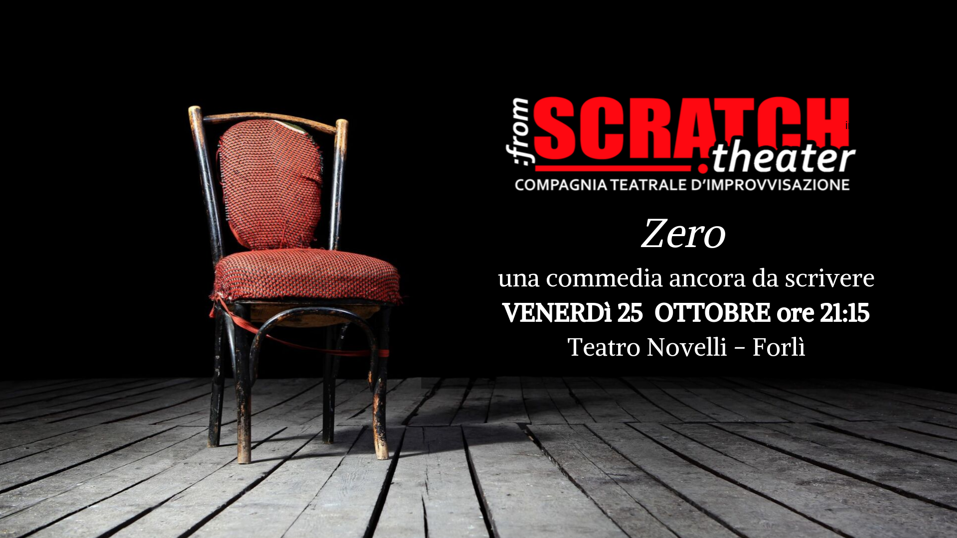 zero from scratch 25 ottobre